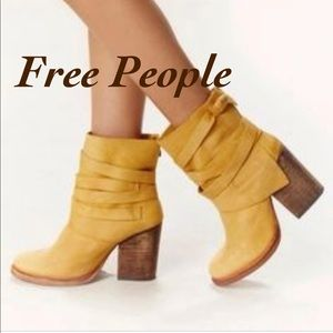 Free People   Royal Rush Leather Boots